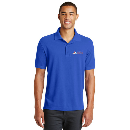American Sailing Association Men's Pique Polo by Eddie Bauer®