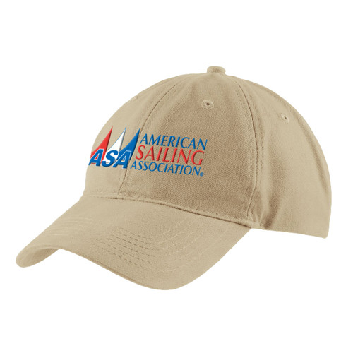 American Sailing Association Cotton Cap Stone (Customizable)