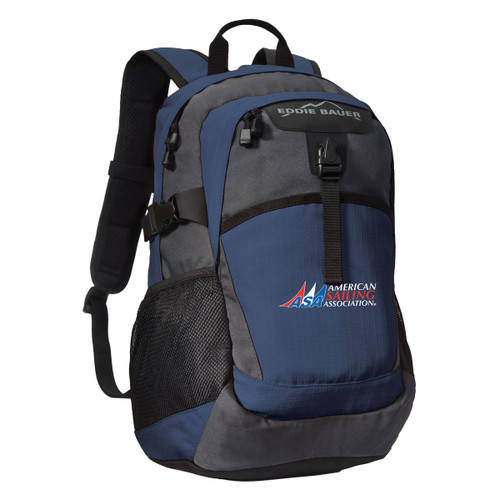 American Sailing Association Ripstop Backpack by Eddie Bauer® Blue (Customizable)