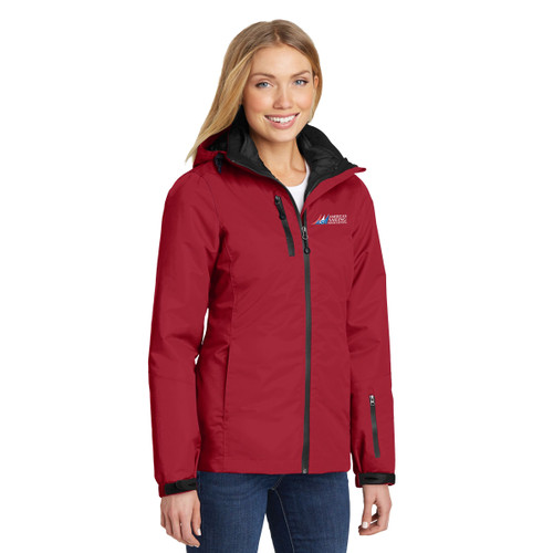 American Sailing Association Women's Vortex Waterproof 3-in-1 Jacket by Port Authority®
