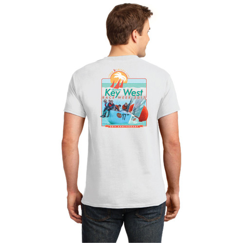 Quantum Key West Race Week 2017 Men's Cotton T-Shirt