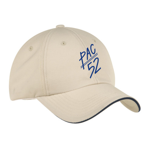 Pac 52 Class Wicking Sailing Cap Stone (Customizable)
