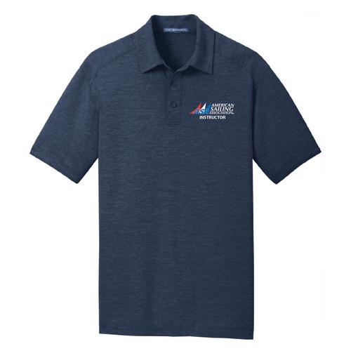 ASA Instructor Men's Wicking Polo Shirt