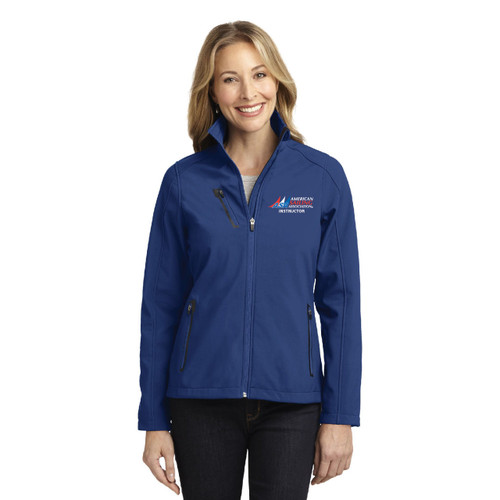 ASA Instructor Waterproof Women's Soft Shell Jacket by Port Authority®
