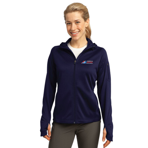 American Sailing Association Women's Wicking Fleece Hoodie
