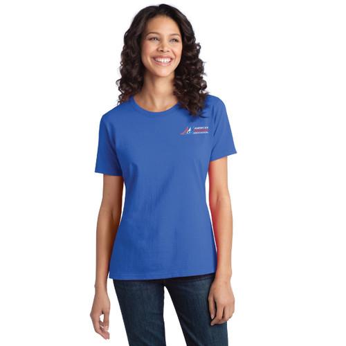 SALE! American Sailing Association Compass Rose Women's Ring Spun Cotton T-Shirt