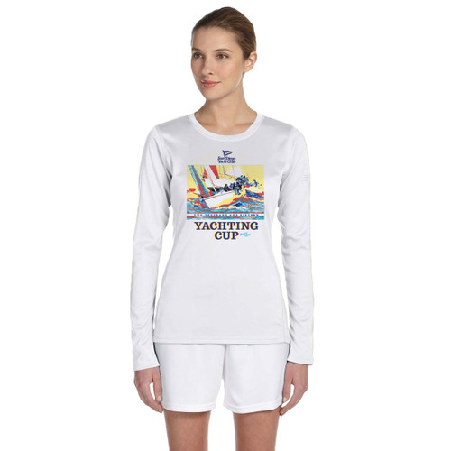 SDYC Yachting Cup 2016 Women's V-Neck Wicking Shirt