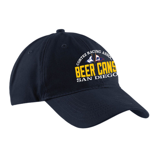 CRA Beer Cans San Diego Cotton Sailing Cap Navy
