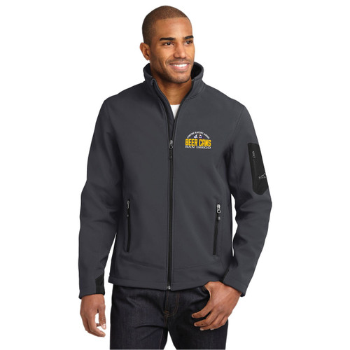 CRA Beer Cans San Diego Men's Ripstop Soft Shell by Eddie Bauer®