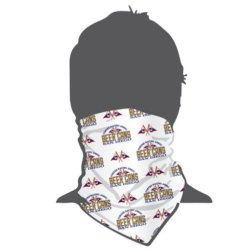 CRA Beer Cans San Diego Moisture Wicking Neck Gaiter (Buff)