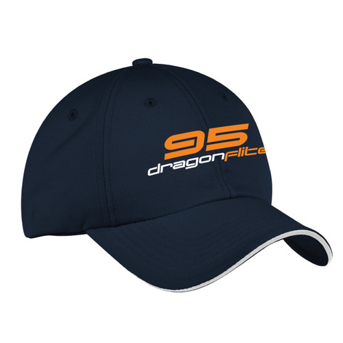 DragonFlite 95 (DF95) Class Wicking Sailing Cap Navy (Customizable)