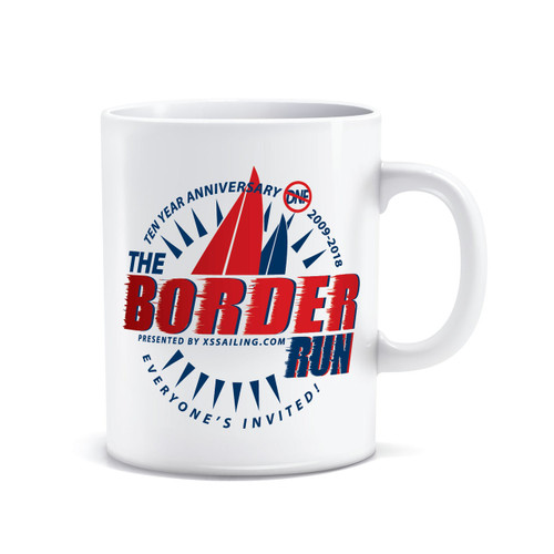 The Border Run 2018 Coffee Mug (Red)