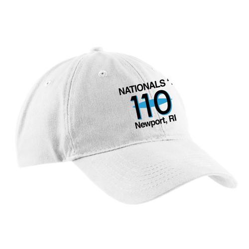 110 Nationals 2017 Cotton Sailing Cap White (Customizable)