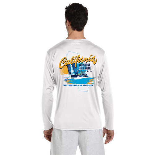 California Offshore Race Week 2017 UPF 50+ Wicking Shirt (Customizable)