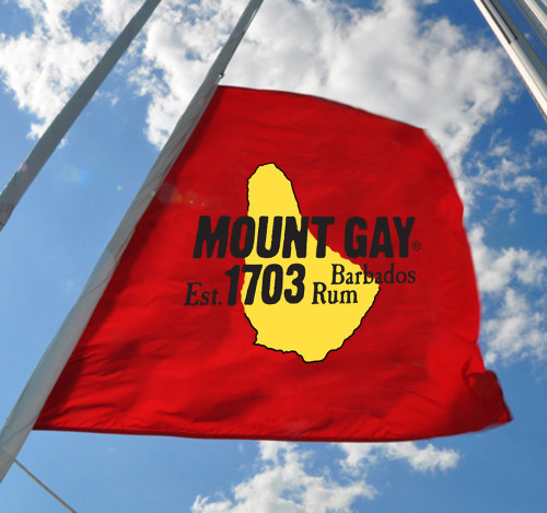 Mount Gay® Rum Battle Flag