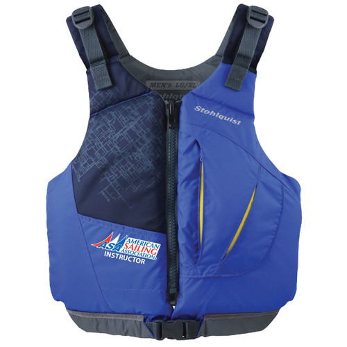 ASA Instructor Adult Life Jacket by Stohlquist (Blue)