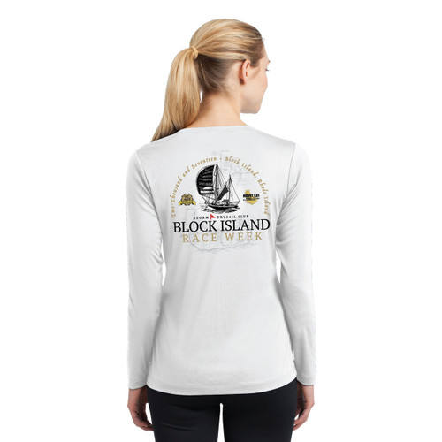 Block Island Race Week 2017 Women's Wicking Shirt