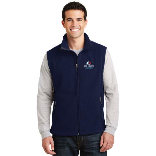 King Harbor Race Weekend Men's Fleece Vest (Customizable)