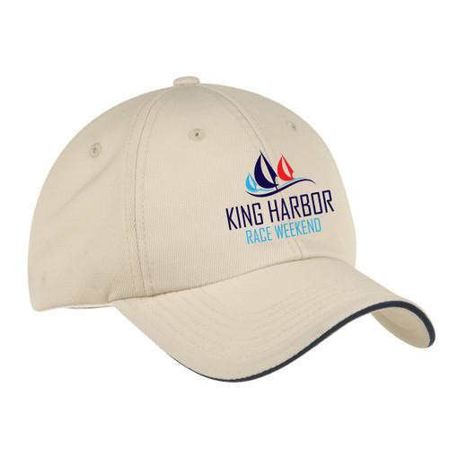 King Harbor Race Weekend  Wicking Sailing Cap Stone (Customizable)