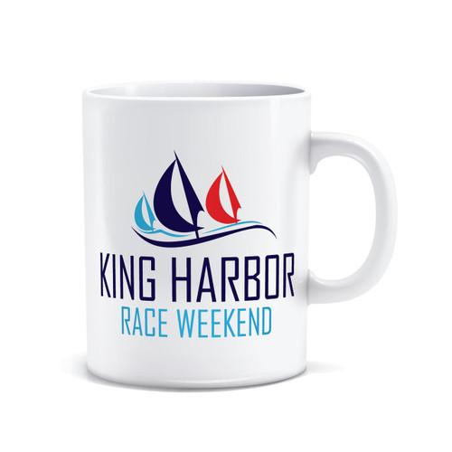 King Harbor Race Weekend Coffee Mug