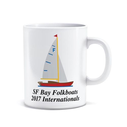 Folkboats 2017 Internationals Coffee Mug