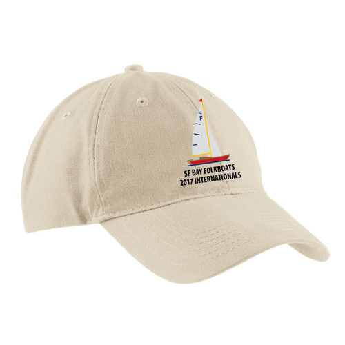 Folkboats 2017 Internationals Cotton Sailing Cap Stone (Customizable)