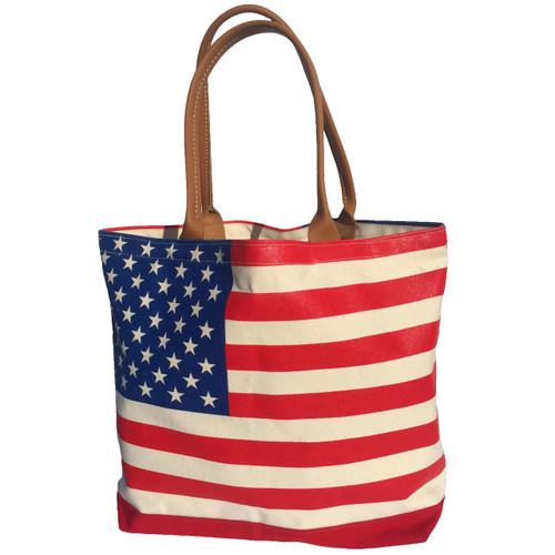 SALE! American Flag Boat Tote by YRI®