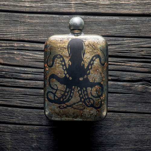 The Sea Monster Perdition Flask