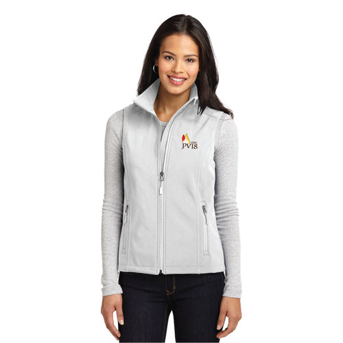 SDYC Puerto Vallarta Race 2018 Women's Soft Shell Vest (Customizable)