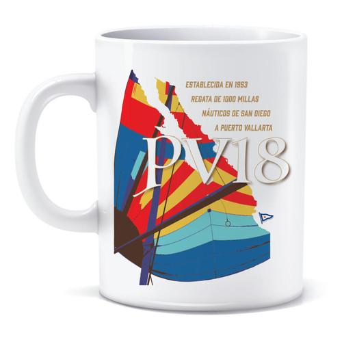 SDYC Puerto Vallarta Race 2018 Coffee Mug