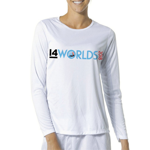I14 World Championships 2018 Women's Wicking Shirt (Customizable)