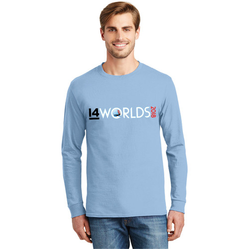 I14 World Championships 2018 Men's Cotton Long Sleeve T-Shirt