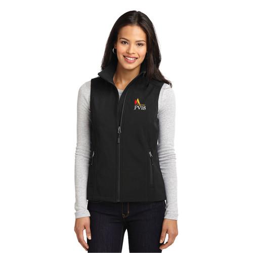 SDYC Puerto Vallarta Race 2018 Women's Soft Shell Vest Black (Customizable)