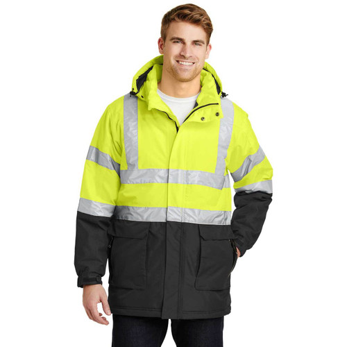 Port Authority® Heavyweight Safety Parka