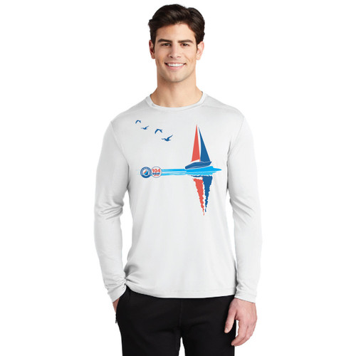 ASA 104 Bareboat Certified  UPF 50+ Men's Wicking Shirt