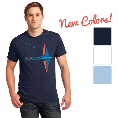 ASA 104 Bareboat Certified Men's Cotton Tee