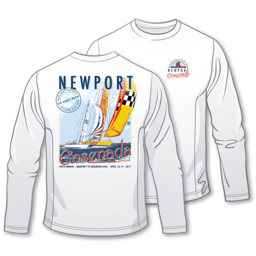 Newport to Ensenada 2011 Moisture Wicking Shirt