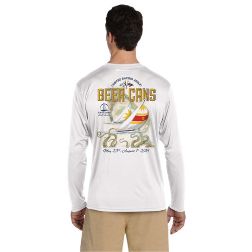 CRA Beer Cans San Diego 2018 UPF 50+ Wicking Shirt (Customizable)