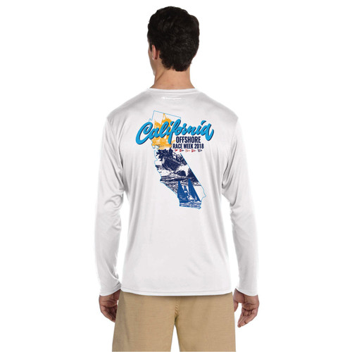 California Offshore Race Week 2018 UPF 50+ Wicking Shirt (Customizable)