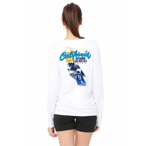 California Offshore Race Week 2018 Women's Wicking Long Sleeve Shirt