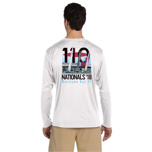 110 Nationals 2018 UPF 50+ Wicking Long Sleeve Shirt (Customizable)