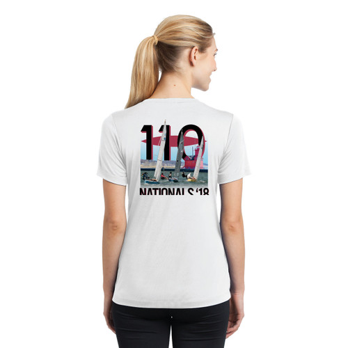 110 Nationals 2018 Women's Short Sleeve Wicking Shirt (Customizable)