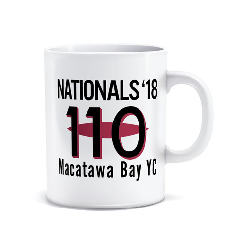110 Nationals 2018 Coffee Mug