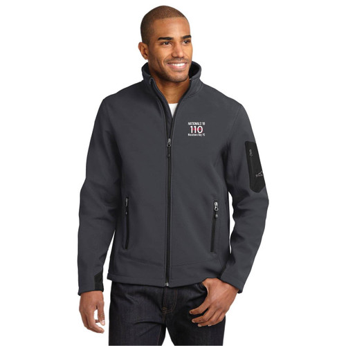 110 Nationals 2018 Men's Ripstop Soft Shell by Eddie Bauer® (Customizable)