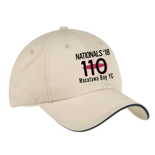 110 Nationals 2017 Wicking Sailing Cap Stone (Customizable)