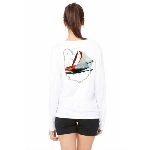 South Shore YC Queen's Cup 2018 Women's Wicking Long Sleeve Shirt (Customizable)
