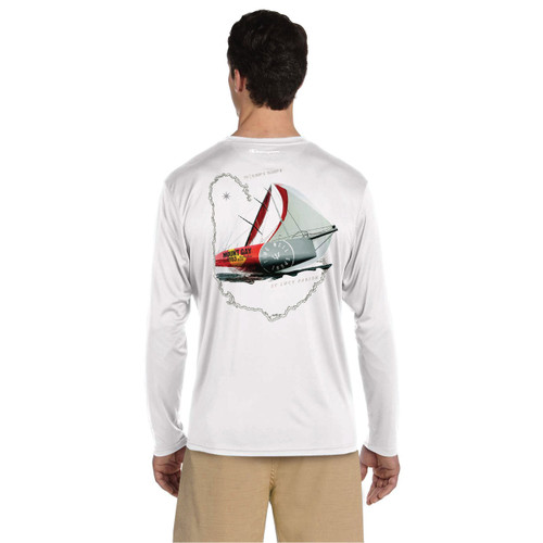 South Shore YC Queen's Cup 2018 UPF 50+ Wicking Long Sleeve Shirt (Customizable)