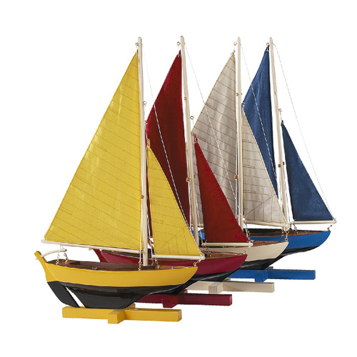 Sunset Sailers, Set Of 4 by Authentic Models®