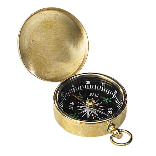 Small Compass (Brass) by Authentic Models®