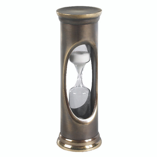 Brass 3 Minute Sandglass by Authentic Models®